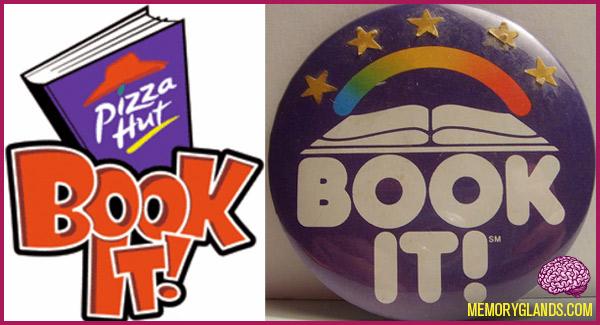 pizza hut restaurant book it book program