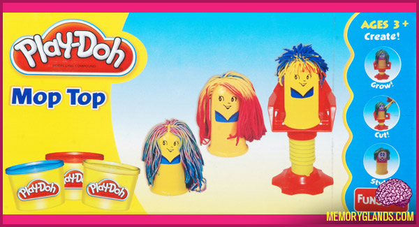 funny play-doh toy