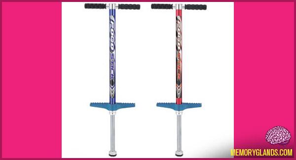 funny pogo sticks toy photo