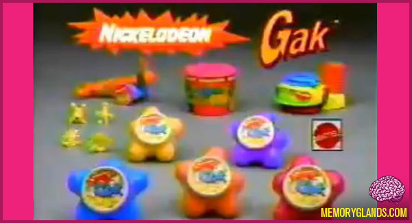 funny nickelodeon gak toy photo