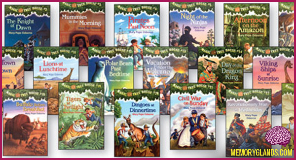 funny magic tree house books photo
