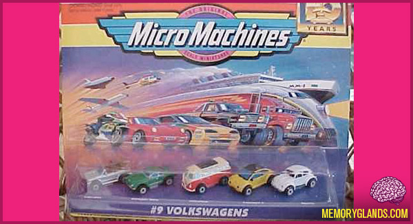funny micro machines little cars photo