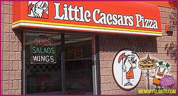 funny little caesars pizza pizza photo
