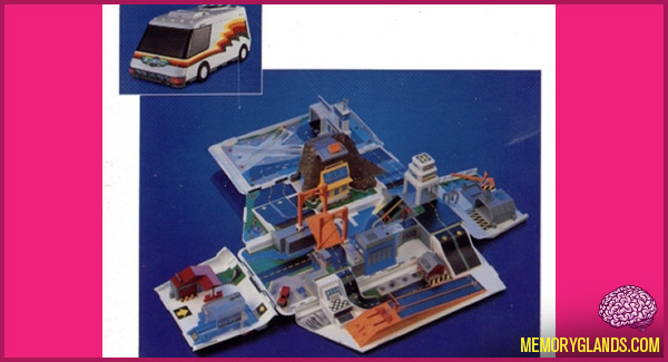 funny micro machines super van city photo