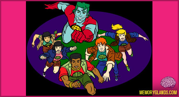 funny cartoon captain planet tv show photo