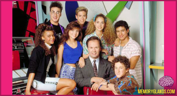 Saved By The Bell : Memory Glands – Funny Nostalgic Photos