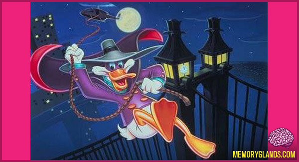 funny cartoon darkwing duck tv show photo