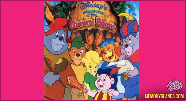 funny disney tv show adventures of the gummi bears photo