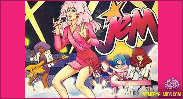 funny cartoon jem tv show photo