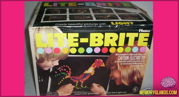 funny toy lite brite photo