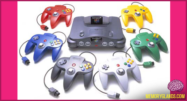 funny nintendo 64 video game console photo