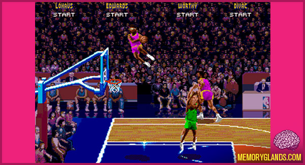 funny nba jam video game photo