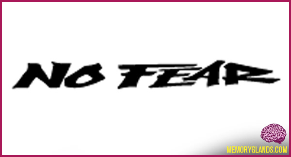 funny no fear brand photo