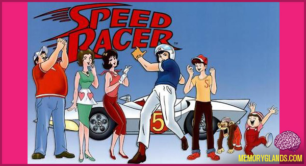 funny cartoon speed racer tv show photo