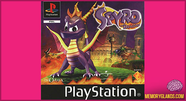 funny spyro the dragon video game playstation photo