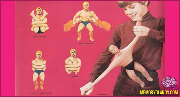 funny stretch armstrong toy photo