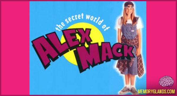 funny nickelodeon tv show the secret world of alex mack photo