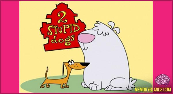 funny cartoon 2 stupid dogs tv show photo