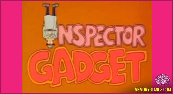 funny cartoon tv show inspector gadget photo