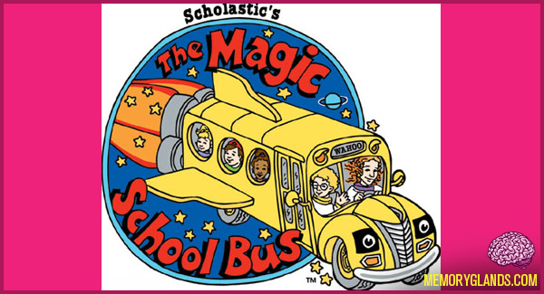 funny cartoon tv show the magic school bus photo