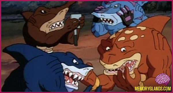 funny street sharks cartoon tv show photo