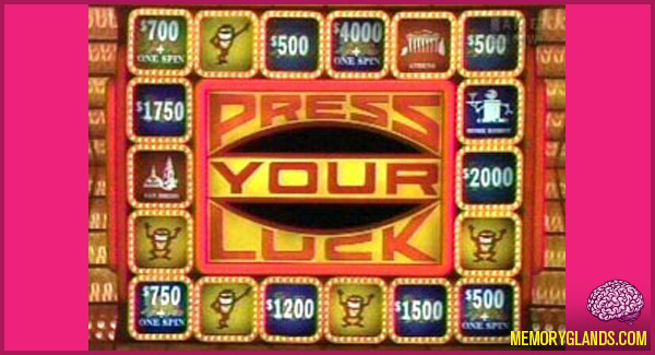 funny tv show press your luck photo