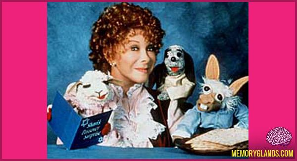 funny Lamb Chop's Play-Along tv show photo