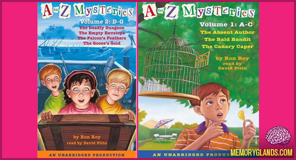 funny a to z mysteries books photos