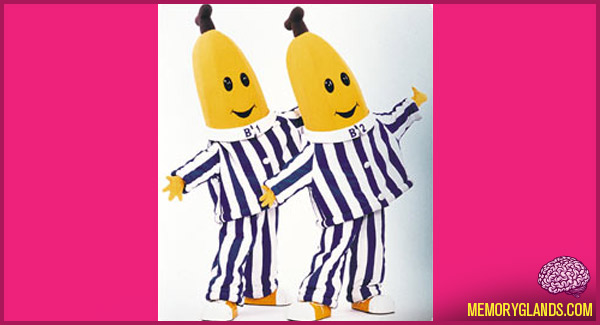 funny bananas in pajamas tv show photo