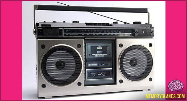 funny boombox photo