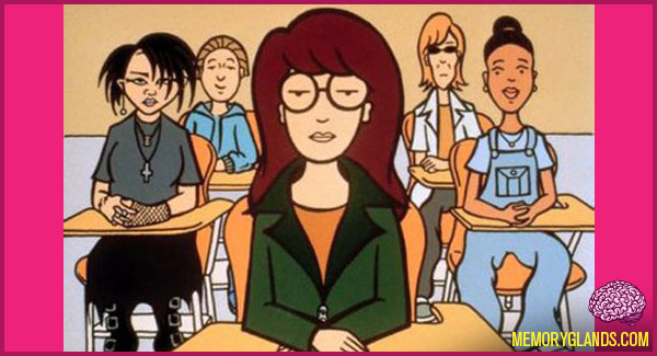 funny mtv tv show daria photo