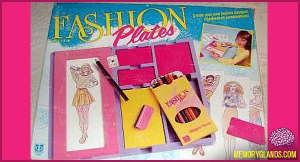 funny fashion plates toy photo