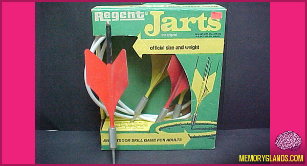 funny lawn jarts game photo