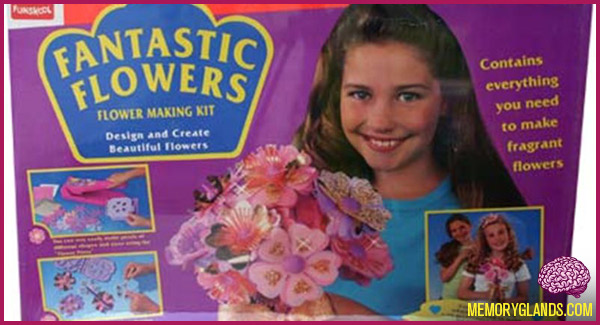 funny arts and crafts toy fantastic flowers photo
