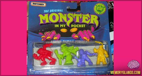 funny monster in my pocket toy photo