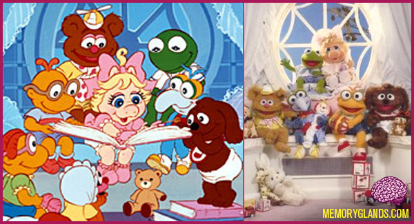 funny cartoon tv show muppet babies photo