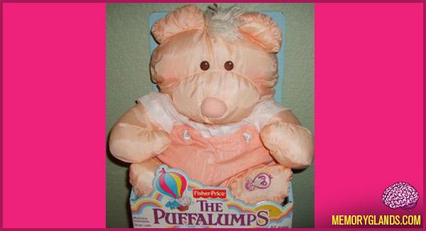 funny the puffalumps stuffed animals photo