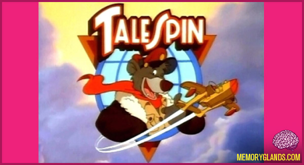 funny cartoon tv show talespin photo