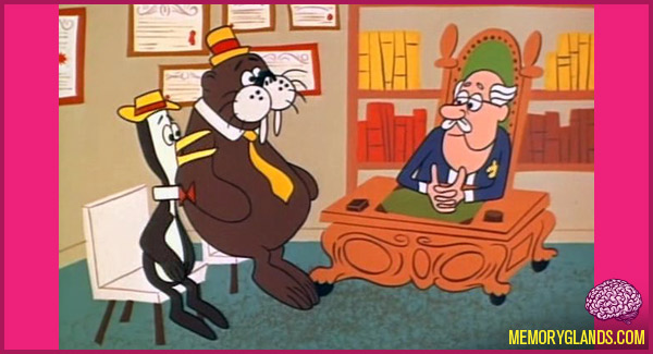 funny cartoon tv show Tennessee Tuxedo and His Tales photo