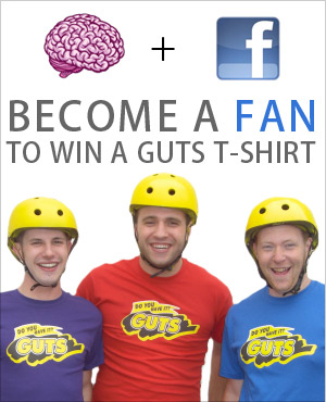 Guts Facebook Fan Contest