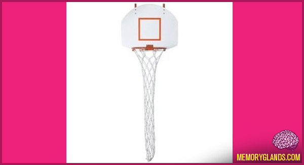 funny laundry basketball hoop photo