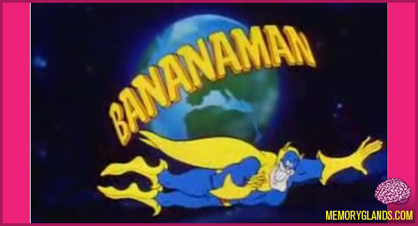 funny bananaman cartoon photo