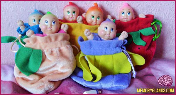 Trendmasters Dream Garden Dolls Memory Glands Funny