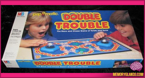 Trouble Amp Double Trouble Memory Glands Funny Nostalgic