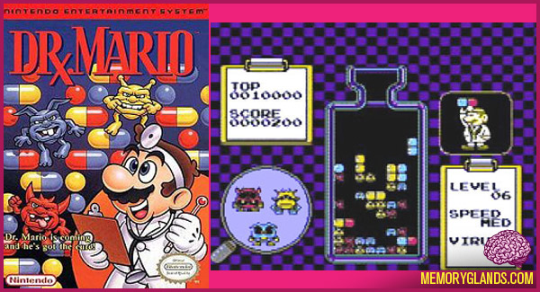dr mario memory glands funny nostalgic photos