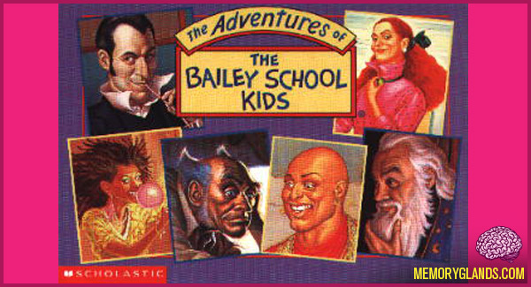 The Adventures Of The Bailey School Kids Memory Glands