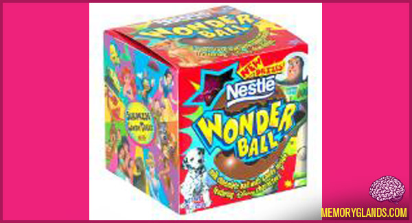 Nestle Wonder Ball Memory Glands Funny Nostalgic Photos