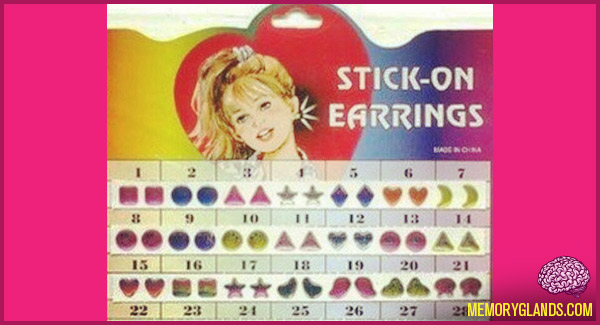 stick-onearrings