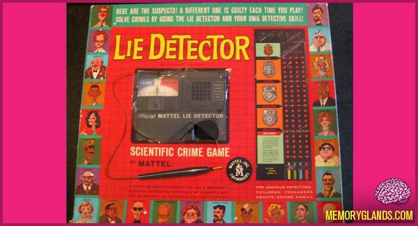 Lie Detector Crime Game Memory Glands Funny Nostalgic Photos