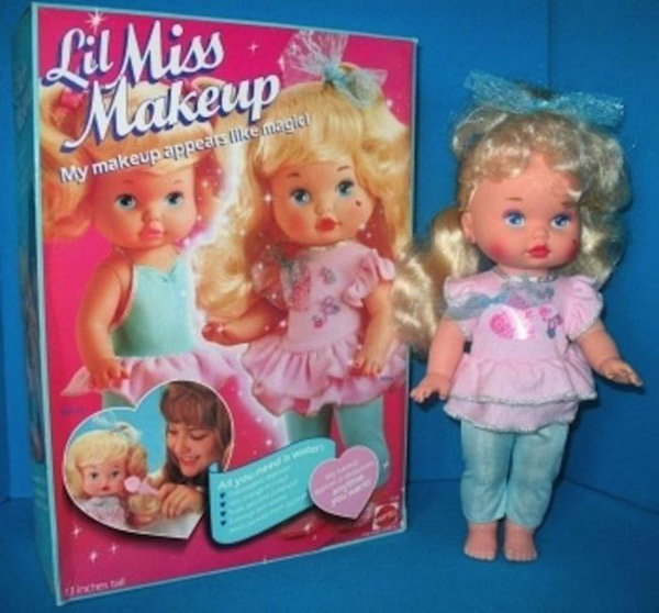 Lil Miss Makeup Memory Glands Funny Nostalgic Photos